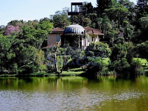 Casa De Campo Com 5 Dormitórios À Venda, 37000 M² Por R$ 2.500.000 - Sítio Represa - São Paulo/sp - Sc8523