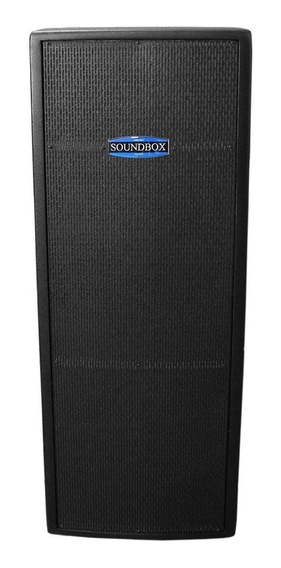 Caixa Ativa 600w Thunder 15 Dupla Preta - Soundbox