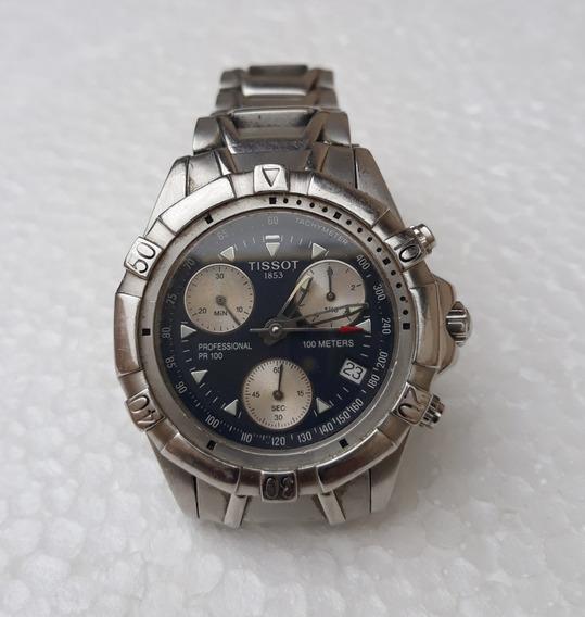 Relógio Tissot Pr 100 Cronógrafo Antigo Raro