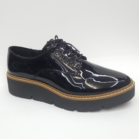 Zapato Casual Tacón Corrido Mujer U40082