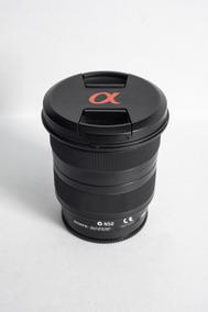 Lente Sony Alpha 11-18mm F/ 4.5-5.6 Dt Grande Angular