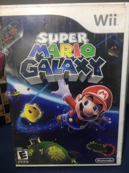 Super Mário Galaxy- Jogo Para Nintendo Wii Seminovo-rf132
