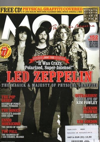 Mojo Revista Britânica - Led Zeppelin