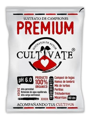 Sustrato De Autor Premium 80 L Cultivate 100% Orgánico
