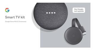 Google Smart Tv Kit: Google Home Mini 3ra Y Chromecast 3ra