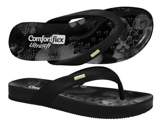Chinelo Comfortflex 1840401 Ultrasoft Feminino