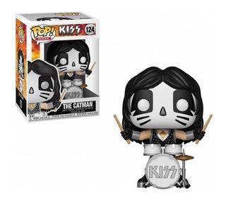 Funko Pop Rocks Kiss Catman 124 Original!