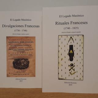 Divulgaciones Y Rituales Franceses - Los 2 Libros