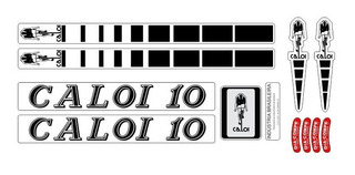 Adesivo Para Bicicleta Caloi 10 1981 - 81 82 83 Frete Grátis