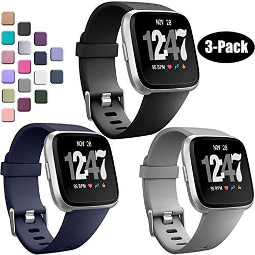 Imagen 1 de 7 de Wepro Bandas Compatibles Con Fitbit Versa/fitbit Versa 2/fit