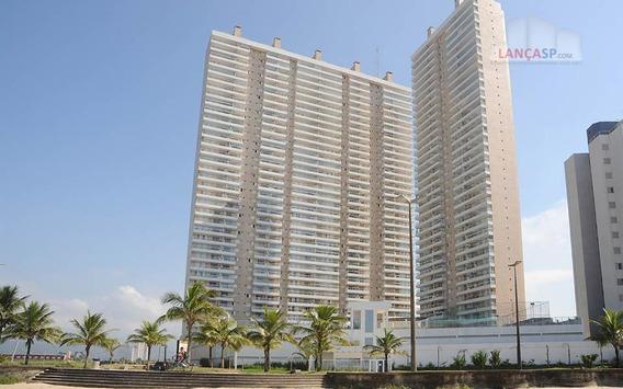 Apto 91m² 2 Dorms C/ Suite No Costa Do Sol, Praia Grande! - Ap0151