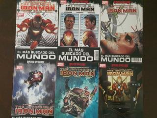 Mini Lote Marvel Cómics México The Invicible Iron Man #1-14