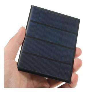 Célula Painel Placa Solar 12v/18v 1,5w Carrega Bateria 12v