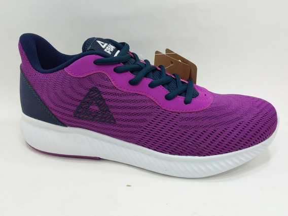 Zapatilla Peak Orbita W Running - Trainning Purpura