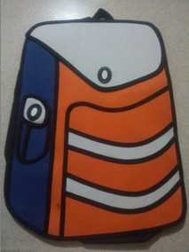 Mochilas Cartoon 2d Y 3d