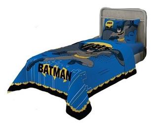 Jogo De Cama Lençol Infantil Batman 2 Peças Lepper