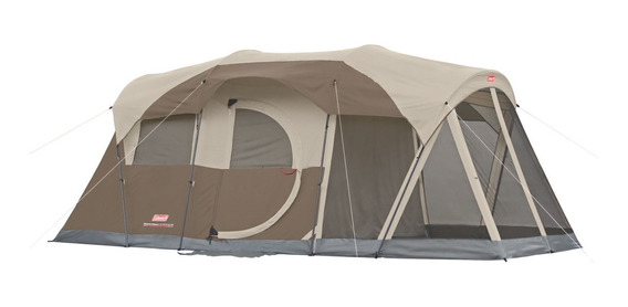 Carpa Coleman 6 Personas Impermeable Camping Weathermaster