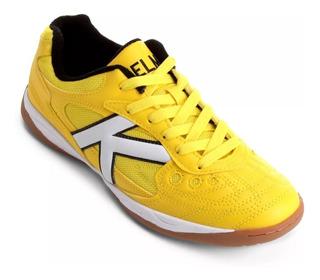Tenis Futsal Kelme Copa - Amarela/branca - Original