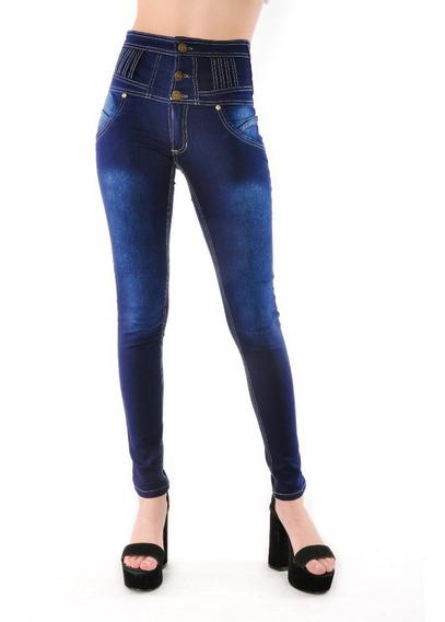Jean Mujer Elastizado Tipo Colombiano Talles Grandes