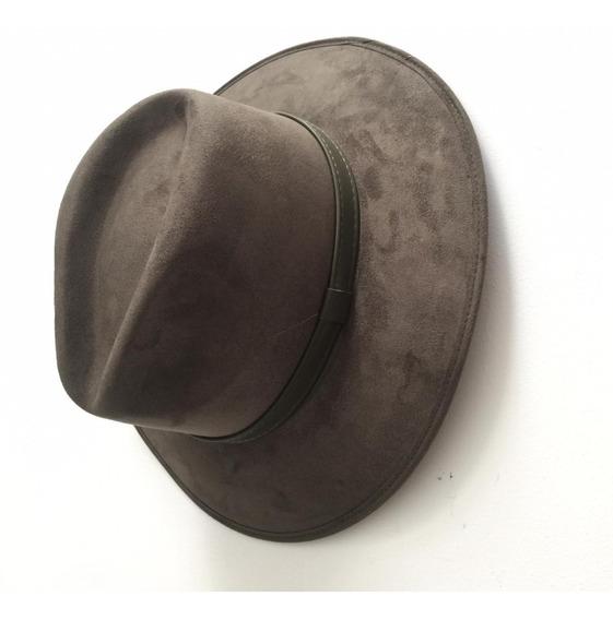 Sombrero De Gamusin Casual Explorer Vaquero | Verde Olivo