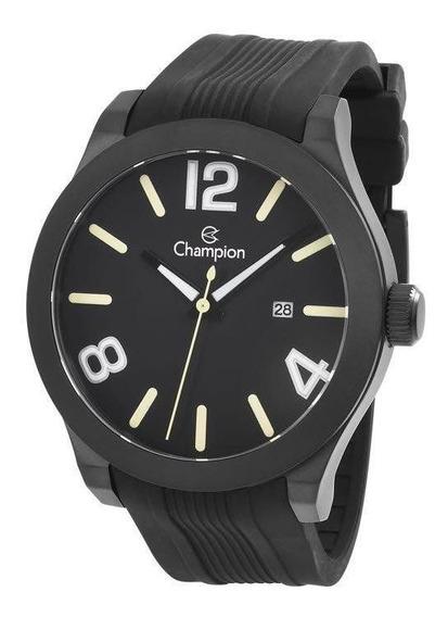 Relógio Champion Masculino Ref: Ca31659p Esportivo Black