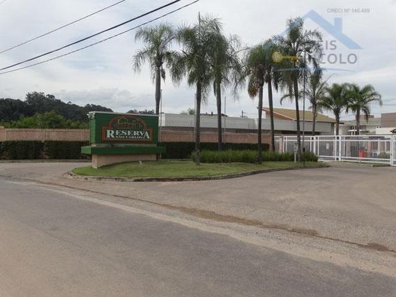 Terreno No Condominio Reserva São Carlos Jundiaí Mirim, Jundiaí. - Te0099