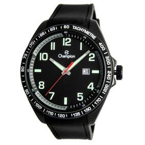 Relógio Champion Masculino Preto Analógico Ca31720p