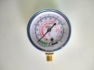 Reloj Para Manometro De Refrigeracion Baja Presion R22 R134