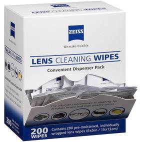 200 Lenços Zeiss Limpeza Óculos Lentes Em Geral