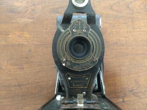 Máquina Fotográfica Kodak Bownnie N O 2 - A Folding Fole