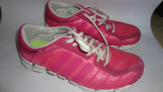 Tenis adidas Feminino Clima Cool Rosa Numero 38 Otimo Estado