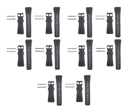 Kit Com 10 Pulseira Para Relógio Casio Primeira Linha