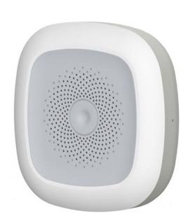 Wifi 3 En Uno Alarma Sirena Inteligente Temperatura Humedad