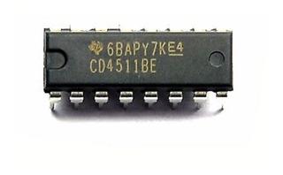 Registrador/controlador/decodificador Bcd Cd4511be