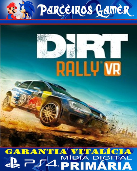 Dirt Rally Plus Playstation Vr Bundle Ps4 1 Digital Corrida