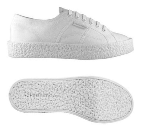 Zapatillas Superga - 2750 - Cotu Mega Paura - Total White