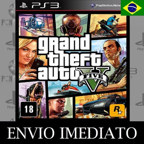 Gta 5 Ps3 Psn Grand Theft Auto V Digital Psn - Receba Agora