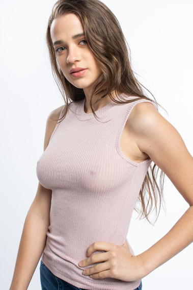 Musculosa Polera Lisa De Mujer Soho Modelo Flow