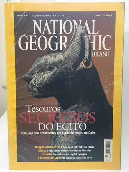 National Geographic Brasil Janeiro 2003
