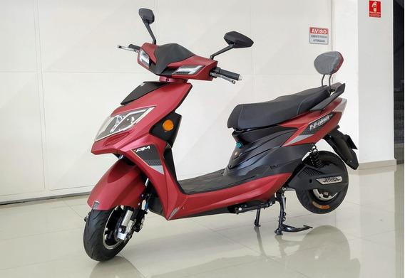 Scooter 100% Eletrico Modelo Mo Yan 1200w Marca Aima