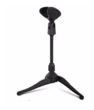 Pie De Microfono Plastico Para Mesa O Escritorio Con Pipeta