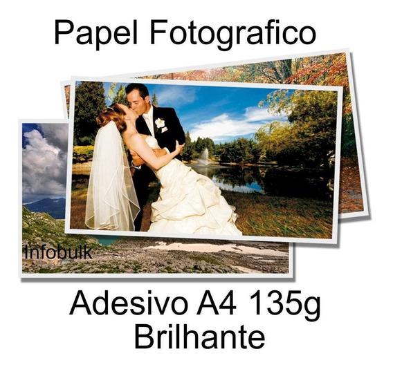 Papel Fotografico Glossy Adesivo 1000 Folhas A4