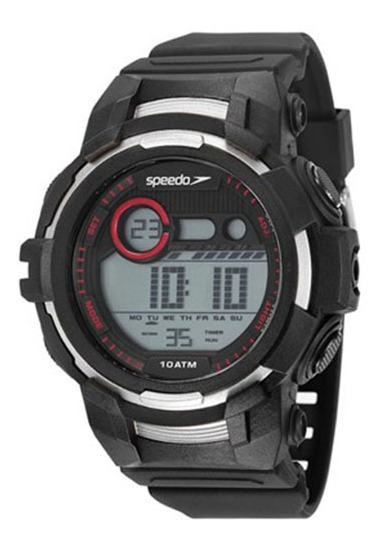 Relógio Speedo Masculino 11009g0evnp2 Case Digital   Novo