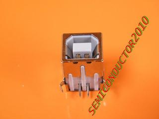 2x Usb Tipo B Hembra Jack Pcb Socket Para Impresora