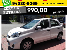 Nissan March 1.0 12v S 5p 2017 2018 Sem Entrada