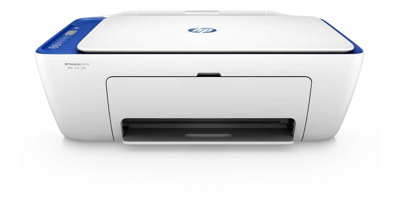 Impressora a cor multifuncional HP DeskJet Ink Advantage 2676 com Wi-Fi 110V/220V branca