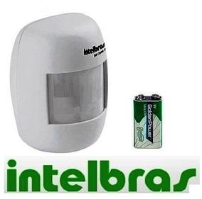 Sensor Infravermelho Sem Fio Ivp 2000 Intelbras Com Bateria
