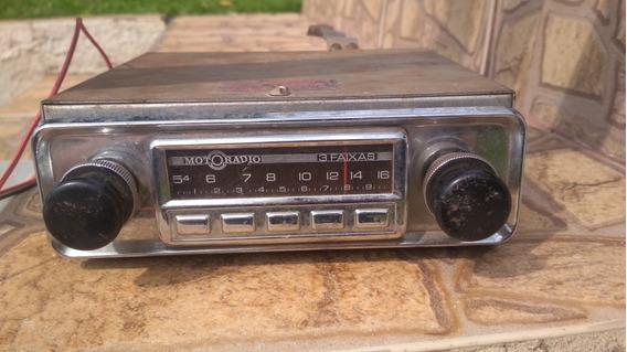 Rádio Motoradio 3 Faixas - Funcionando