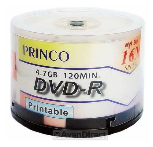 Dvd Virgen Marca Princo Printiable