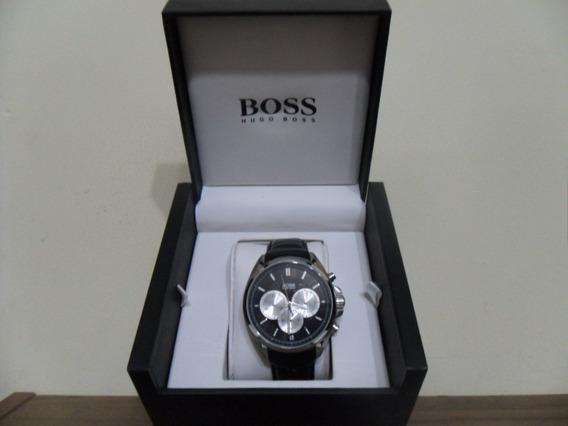 Relógio Hugo Boss Hb.188.1.14.2533 Couro Cronógrafo